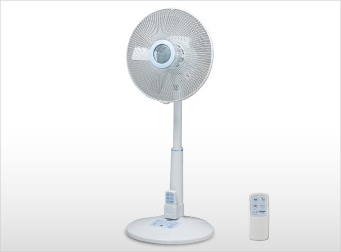 30cmリビングフルリモコン扇風機 KI-F1792(B)