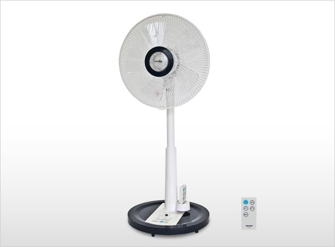 2モーターフルリモコン扇風機 KI-J1796(B)