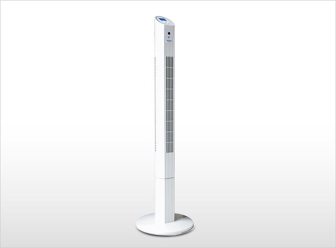 テクノイオン搭載スリムタワー扇風機 TI-1201R