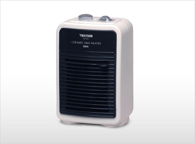 セラミックミニファンヒーター(温調付) TS-161