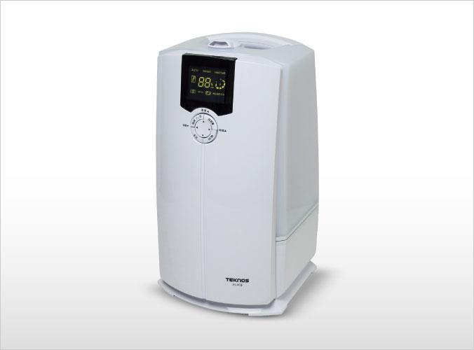 ハイブリット加湿器 4L ホワイト JH-403