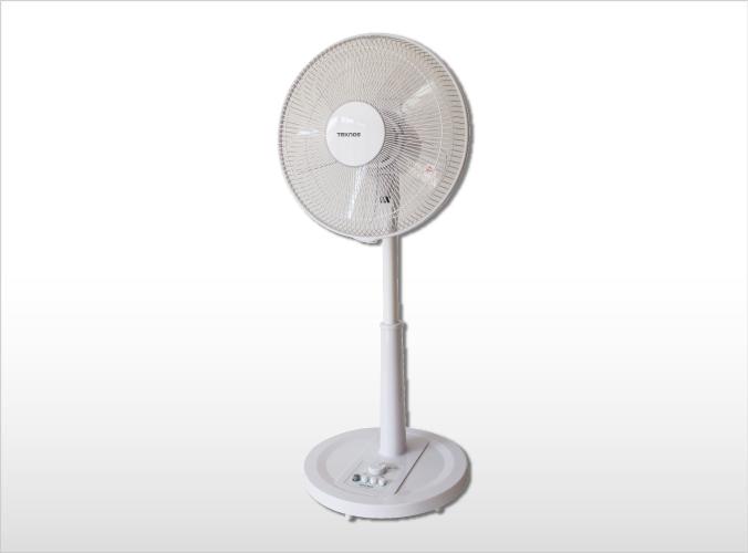 30cmリビングメカ扇風機 ホワイト KI-1765(W)