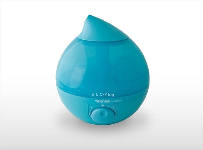 滴型超音波加湿器 3.6Lメレンゲ big ブルー EL-C302(B)