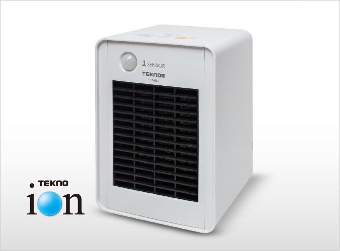 消臭ミニセラミックヒーター人感センサー付 700W TST-703
