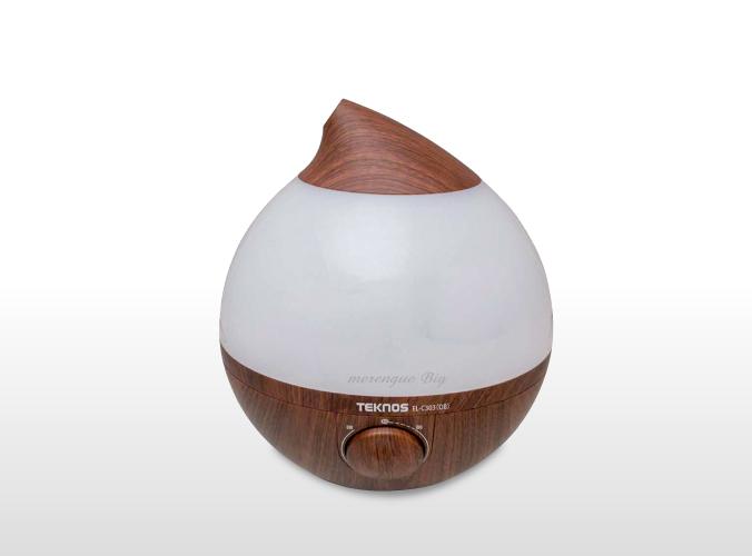 滴型超音波加湿器 3.6Lメレンゲ big ダークブラウン EL-C303(DB)