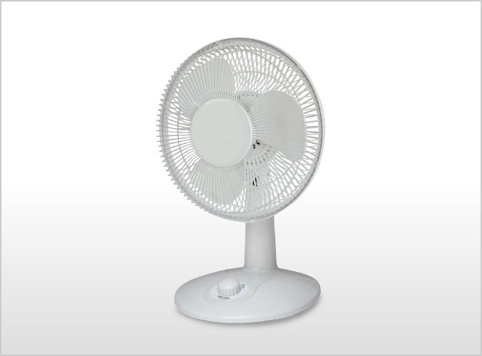 18cm卓上扇風機 TI-1882(W)
