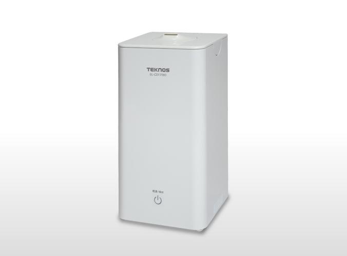 超音波加湿器1.0L EL-C017(W)