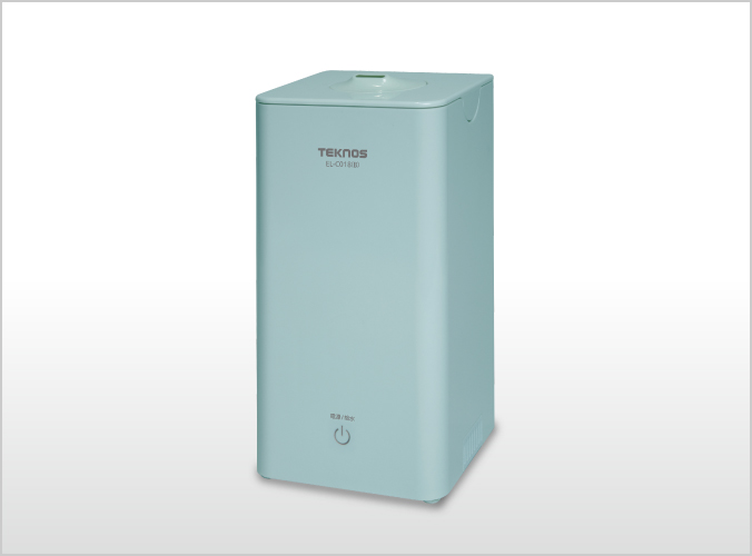 超音波加湿器1.0L EL-C018(B)