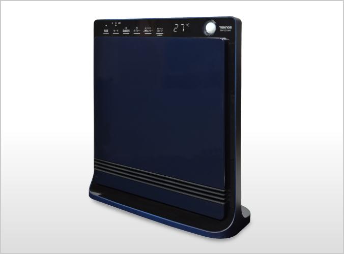 人感センサー付き消臭セラミックファンヒーター 1200W TS-P1221(NV)