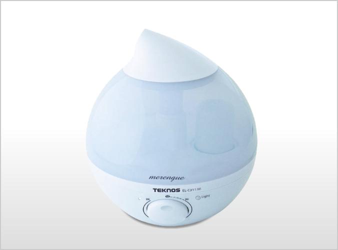滴型超音波加湿器 2.8Lメレンゲ EL-C311(W)