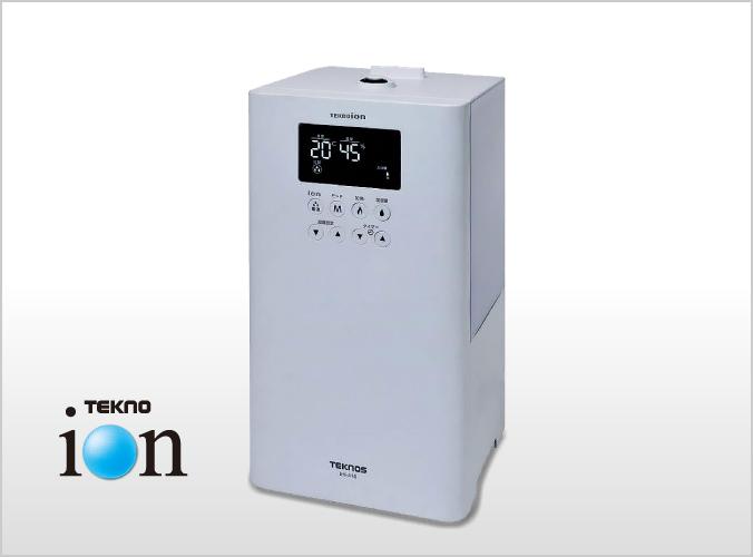 テクノイオン付ハイブリット加湿器 4L ホワイト JHI-410